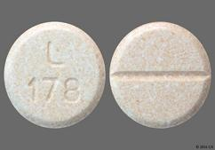 Peach Round Tablet L 178 - Venlafaxine Hydrochloride 75mg Tablet
