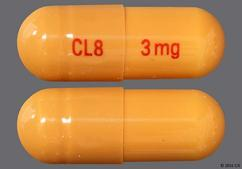 Orange Capsule Cl8 3 Mg - Rivastigmine Tartrate 3mg Capsule