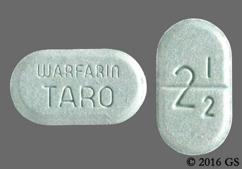 warfarin taro 2mg