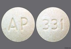 Tan Round Tablet Ap And 331 - NP Thyroid 90 Tablet