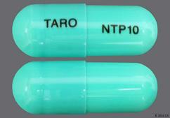 Green Capsule Taro Ntp10 - Nortriptyline Hydrochloride 10mg Capsule