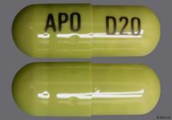 Green Capsule Apo D20 - Duloxetine 20mg Delayed-Release Capsule