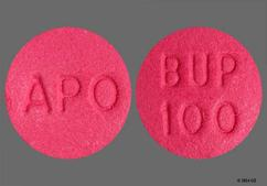 Purple Round Tablet Apo And Bup 100 - Bupropion Hydrochloride 100mg Tablet