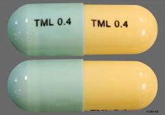 Green And Yellow Capsule Tml 0.4 Tml 0.4 - Tamsulosin Hydrochloride 0.4mg Capsule