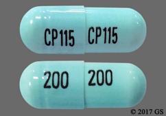 Blue Capsule Cp 115 200 Cp 115 200 - Acyclovir 200mg Capsule