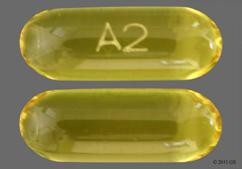 Yellow A2 - Benzonatate 200mg Liquid Filled Capsule