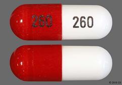 White And Orange 260 260 - Zonisamide 100mg Capsule