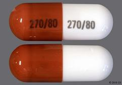 White And Red-Brown Capsule 270/80 270/80 - Atomoxetine 80mg Capsule