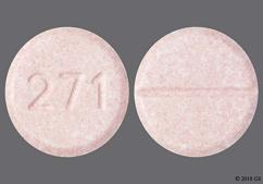 Pink Round Chewable Tablet 342 - Carbamazepine 100mg Chewable Tablet