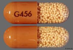 Brown Capsule G456 - Amphetamine/Dextroamphetamine Salts 30mg Extended-Release Capsule