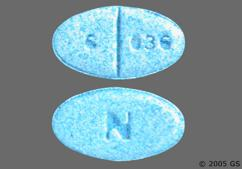 Blue Oval 6 036 And N - Glyburide (Micronized) 6mg Tablet