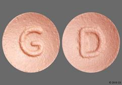 Pink Round D And G - Rosuvastatin Calcium 10mg Tablet