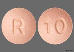 Pink Round 10 And R - Rosuvastatin Calcium 10mg Tablet