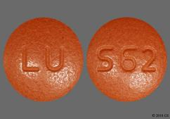 Red-Orange Round Tablet Lu And S62 - Desvenlafaxine 100mg Extended-Release Tablet