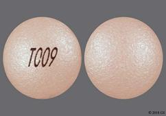Pink Round Tablet T009 - Nifedipine 90mg Extended-Release Tablet