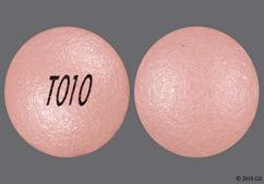 Pink Round Tablet T010 - Nifedipine 60mg Extended-Release Tablet