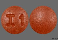Brown Round Tablet I1 - Amitriptyline Hydrochloride 10mg Tablet