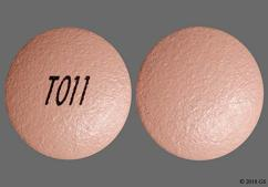 Pink Round Tablet T011 - Nifedipine 30mg Extended-Release Tablet
