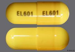 Yellow Capsule El601 El601 - Phentermine Hydrochloride 30mg Capsule