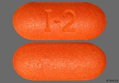 Orange Oblong I-2 - GoodSense Ibuprofen 200mg Caplet