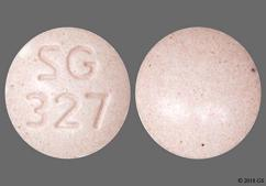 Pink Round Tablet Sg 327 - Aripiprazole 15mg Tablet