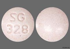 Pink Round Tablet Sg 328 - Aripiprazole 20mg Tablet