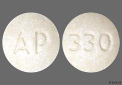Tan Round Tablet Ap And 330 - NP Thyroid 60 Tablet