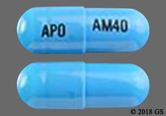 Blue Apo Am40 - Atomoxetine 40mg Capsule