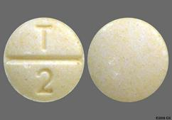 Yellow Round Tablet T 2 - Enalapril Maleate 2.5mg Tablet