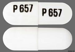 White P 657 P 657 - Cevimeline Hydrochloride 30mg Capsule