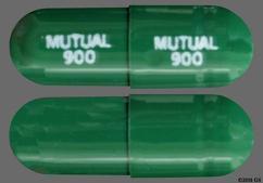 Green Capsule Mutual 900 Mutual 900 - Carvedilol Phosphate 20mg Extended-Release Capsule