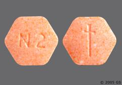 Orange Hexagon Logo And N 2 - Suboxone 2mg-0.5mg Sublingual Tablet