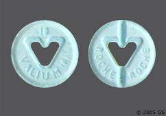 Blue Round Tablet Valium 10 And Roche Roche - Valium 10mg Tablet