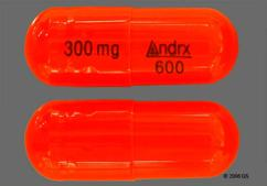 Orange Capsule 300 Mg Andrx 600 - Cartia XT 300mg Extended-Release Capsule