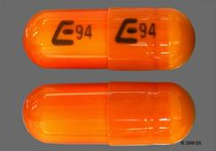 Orange Capsule E94 E94 - Gabapentin 400mg Capsule