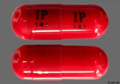 Red Capsule Ip 141 Ip 141 - Isometheptene/Dichloralphenazone/Acetaminophen 65mg-100mg-325mg Capsule