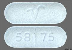 Blue Oblong 58 75 And V - Sotalol Hydrochloride 80mg Tablet