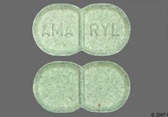 Green Oblong Tablet Logo, Amaryl, And Ama Ryl - Amaryl 2mg Tablet