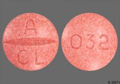 Pink Round Tablet 032 And A Cl - Atacand 32mg Tablet