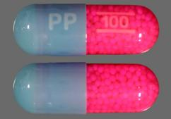 Blue And Pink Pp 100 - Itraconazole 100mg Capsule