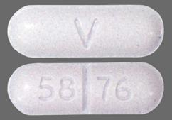 Blue Oblong Tablet 58 76 And V - Sotalol Hydrochloride 120mg Tablet