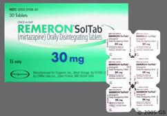 White Round Orally Disintegrating Tab Tz 2 - Remeron Soltab 30mg Orally Disintegrating Tablet