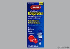 Children's Ibuprofen Coupon - Children's Ibuprofen 100mg/5ml bottle of oral suspension