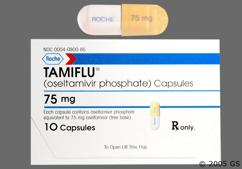 Gray And Yellow Dose Pack Roche 75 Mg - Tamiflu 75mg Capsule