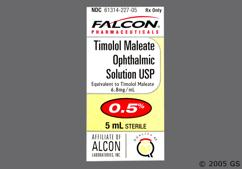 Timolol Coupon - Timolol 5ml of 0.5% eye dropper