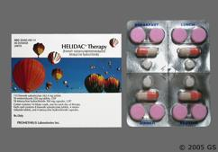 Orange And White Package Pg 12 - Helidac Therapy Kit