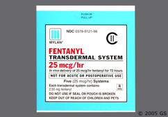 Fentanyl Coupon - Fentanyl 5 patches of 25mcg/hr carton