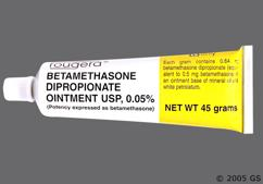Betamethasone Dipropionate Coupon - Betamethasone Dipropionate 45g of 0.05% tube of ointment