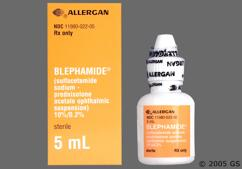 Blephamide Coupon - Blephamide 5ml of 10%/0.2% eye dropper
