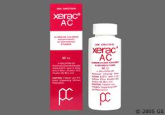 Xerac AC Coupon - Xerac AC 60ml of 6.25% bottle of topical solution